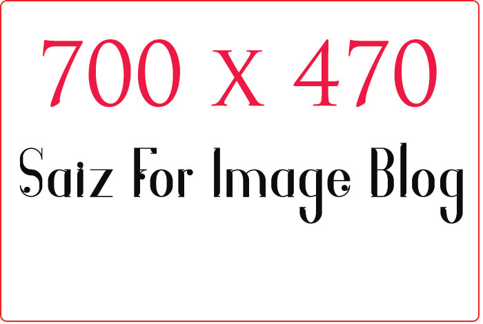 Size for image blog link